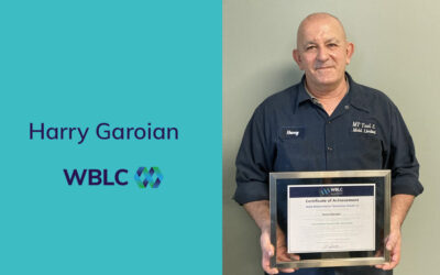 Congratulations Harry Garoian – Mold Maintenance Technician